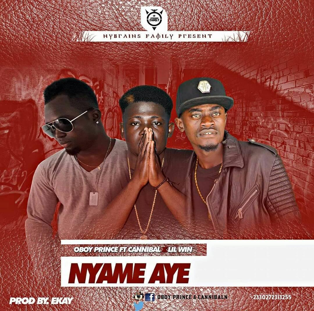 Oboy Prince Ft. Liwin x Cannibal – Nyame Aye (Prod. By EKay)