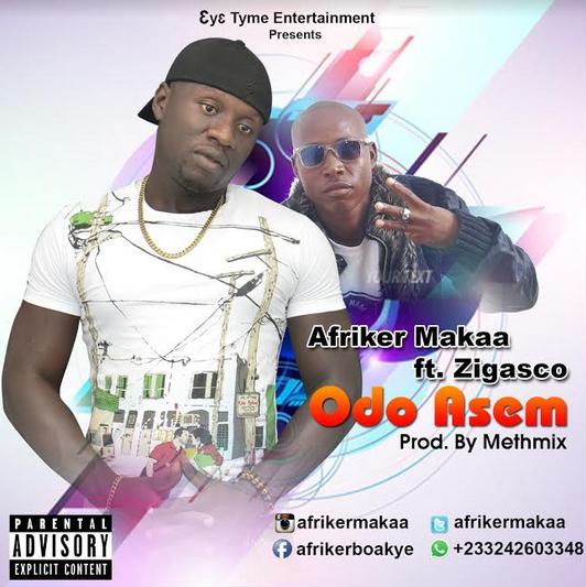 Afriker – Odo Asem Feat. Zigasco ( Prod. By MethMix)