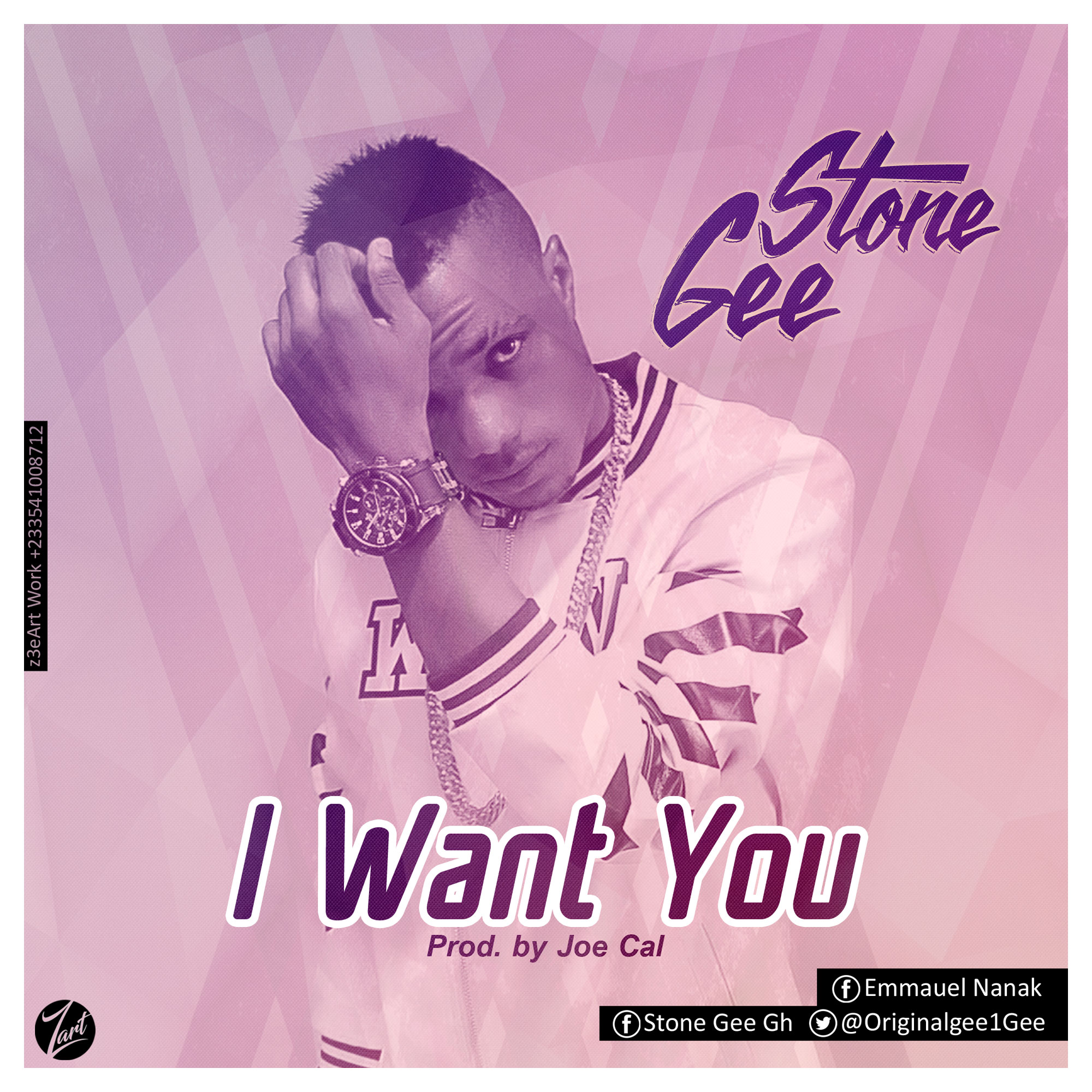 Stone Gee - I want you (Produced by JOECal)