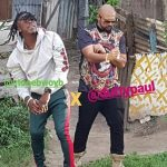 PHOTOS: StoneBwoy On Set With Sean Paul For Most Original Video Shoot