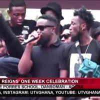 video sarkodies emotional speech 200x200 - VIDEO: Sarkodie's emotional speech at Ebony's One Week Celebration