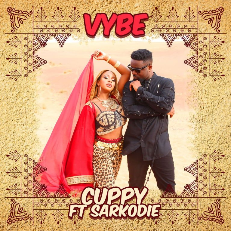 DJ Cuppy - Vybe ft. Sarkodie (Prod. by GospelOnDabeat)