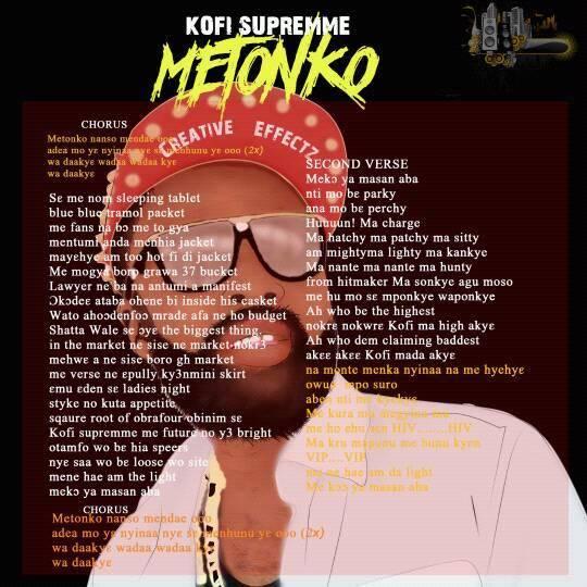 Kofi Supremme – Metonko (Prodby. Chensee)