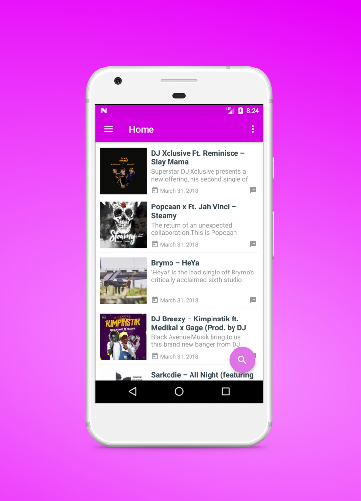 Download HitzGh App 2.0 For Andriod Devices