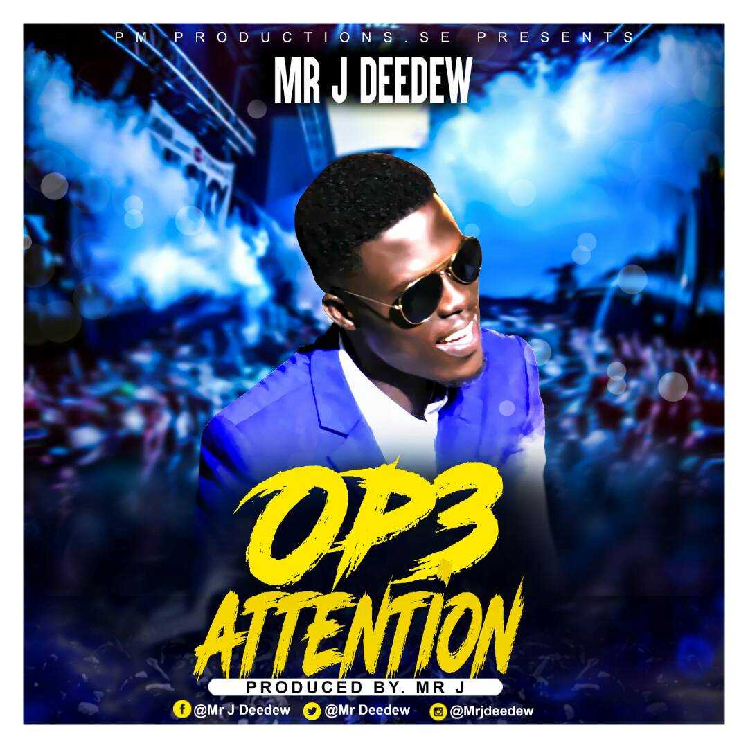Mr. Jay Op3 AttentionProd. By Mr. J - Sista Afia - Obi Boy (Captain Planet Cover) (Prod By Slo Deezy)