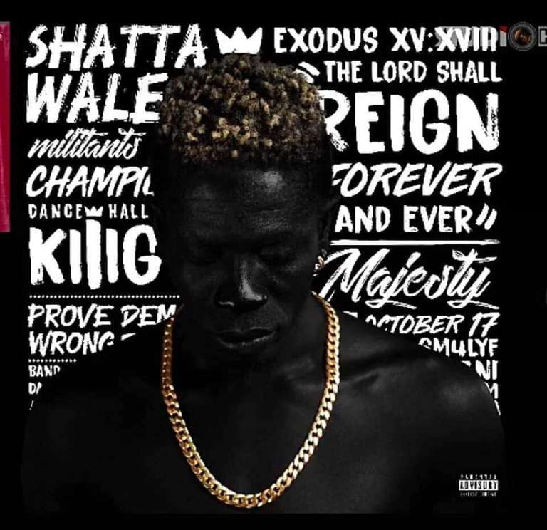 WATCH: Tracklist And Album Cover To Shatta Wale's Reign Album Unveiled