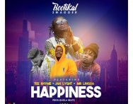 RootiKal Swagger – Happiness FT. Tee Rhyme x Jah Lyght x Mr.Linguai (Prod by QholaBeatz)
