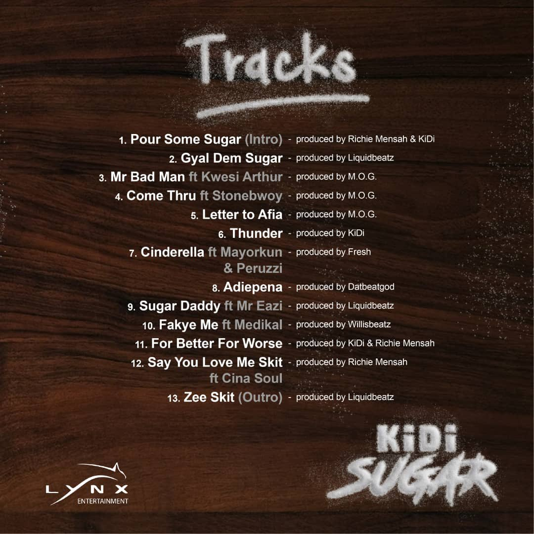 KiDi – Sugar (Full Album)