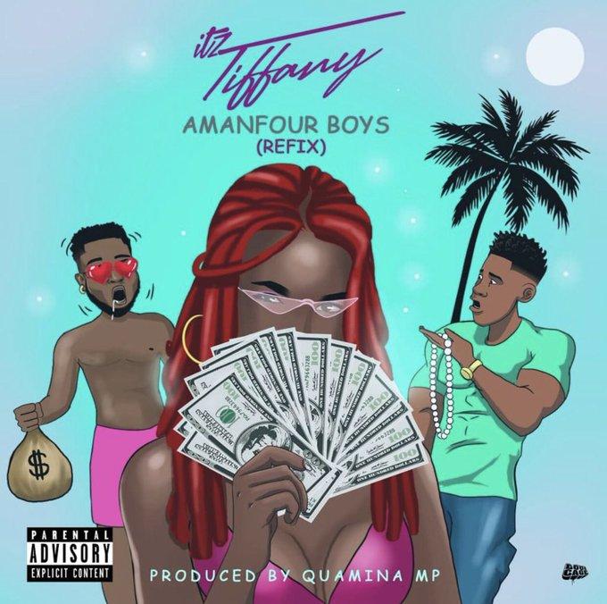 Itz Tiffany – Amanfour Boys (Refix)