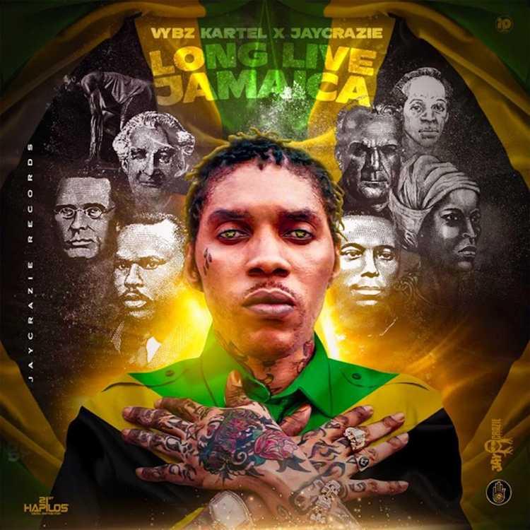 Vybz Kartel – Long Live Jamaica ft. Jaycrazie