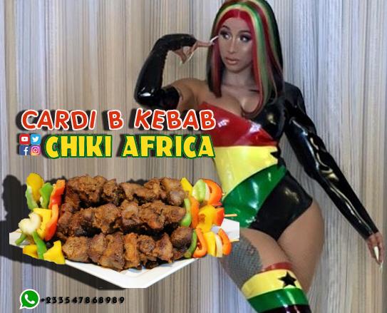 Chiki Africa - Cardi B Kebab